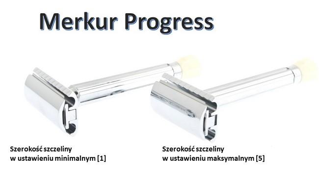 Zmienna ekspozycja ostrza w maszynce do golenia