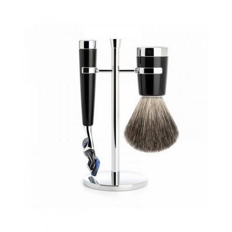 Zestaw do golenia Muhle LISCIO S181M146F czarny 3 częściowy