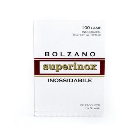 Żyletki BOLZANO SUPERINOX 100 sztuk
