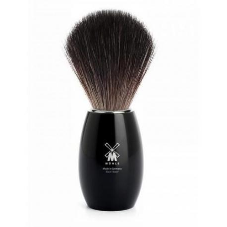 Pędzel do golenia Muhle MODERN 21K856, syntetyk BLACK FIBRE, czarny