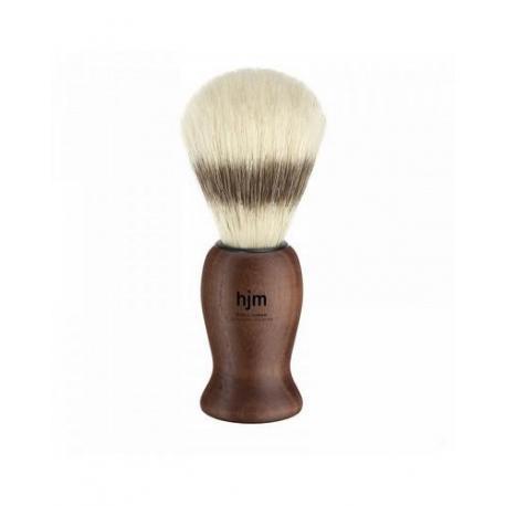 Pędzel do golenia HJM 41H14, naturalna szczecina, uchwyt drewniany