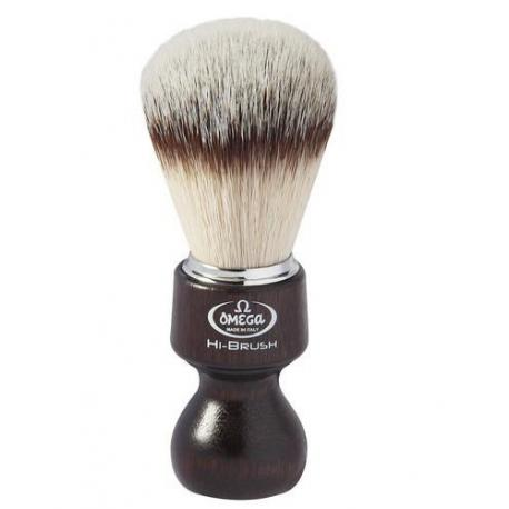 Pędzel do golenia Omega 0146126, syntetyk HI-BRUSH, OVANGKOL