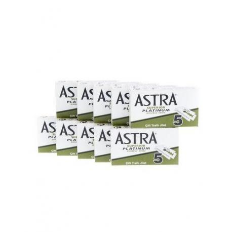 Żyletki ASTRA Superior Platinium (zielone) 50 sztuk