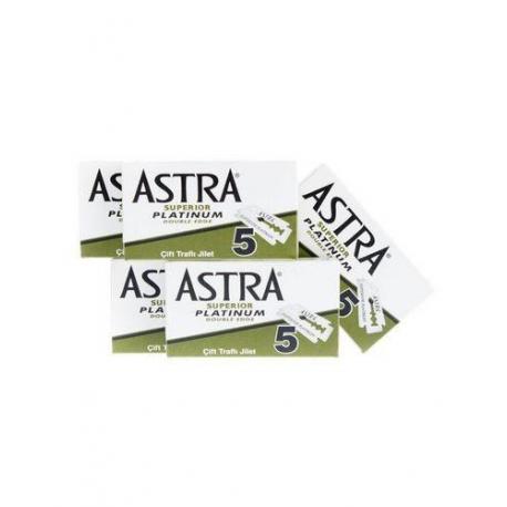 Żyletki ASTRA Superior Platinium (zielone) 25 sztuk