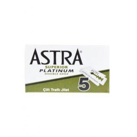Żyletki ASTRA Superior Platinium (zielone) 5 sztuk
