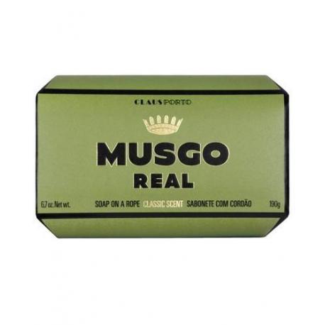 MUSGO REAL CLASSIC SCENT mydło kąpielowe na sznurku 190gr