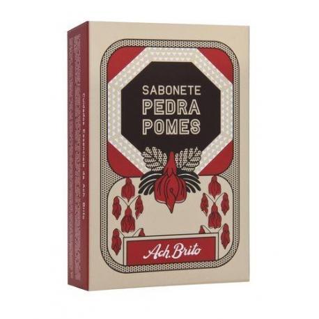 ACH BRITO PEDRA POMES mydło roślinne z ziarenkami pumeksu 90g