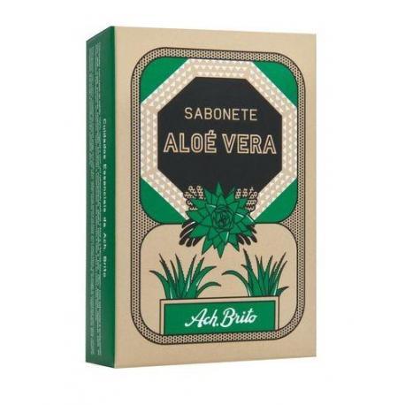 ACH BRITO ALOE VERA mydło roślinne: aloes i dzika mięta 90g