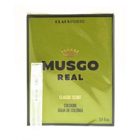 Tester zapachu MUSGO REAL CLASSIC SCENT
