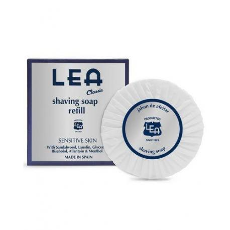LEA Classic luksusowe mydło do golenia uzupełnienie (refill) 100g