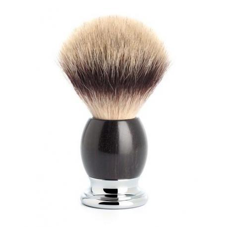Pędzel do golenia Muhle SOPHIST 33H85, syntetyk SILVERTIP FIBRE, drewno grenadill