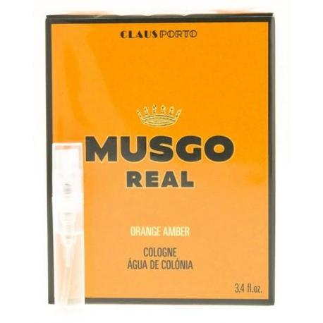 Tester zapachu MUSGO REAL ORANGE AMBER