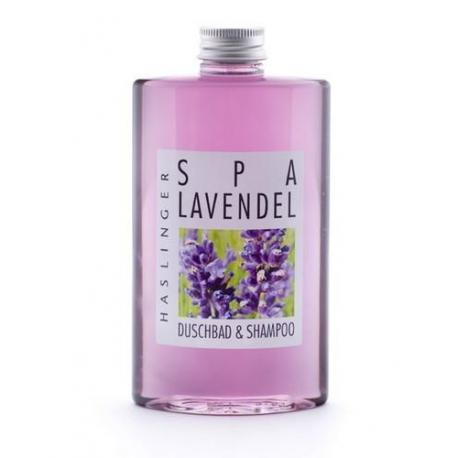 HASLINGER LAVENDEL 2w1 szampon i żel lawendowy 200 ml