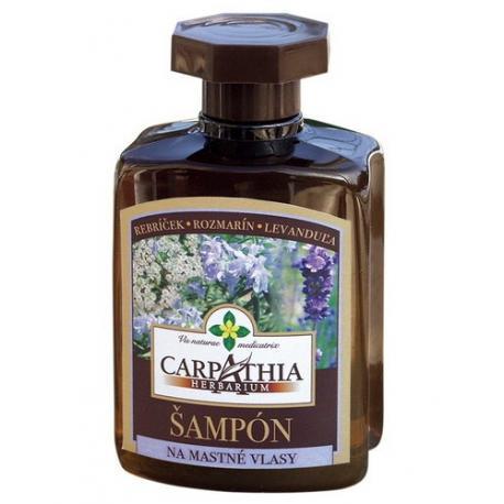 Carpathia Herbarium szampon ziołowy do włosów tłustych 300ml