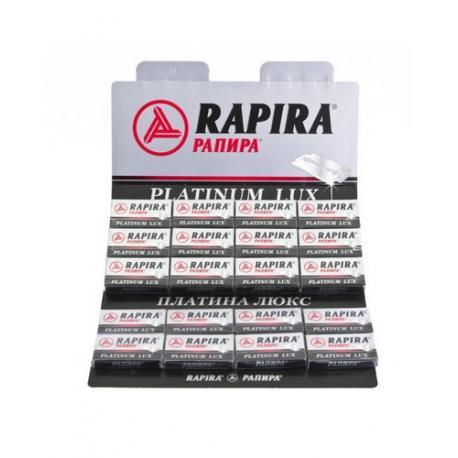 Żyletki Rapira Platinium Lux 100 sztuk