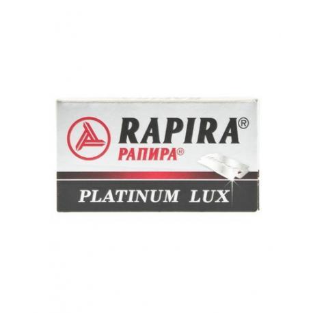 Żyletki Rapira Platinium Lux 5 sztuk