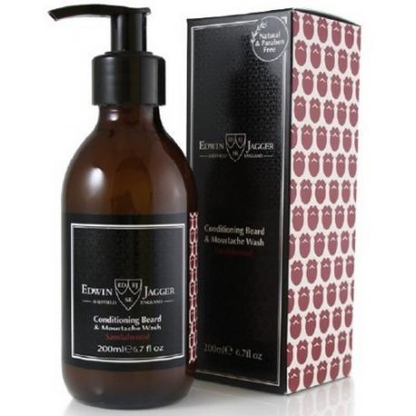 Edwin Jagger SANDALWOOD szampon do brody 200 ml