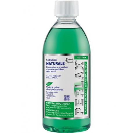 PERLAX NATURAL płyn do płukania jamy ustnej 500ml