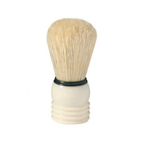Pędzel do golenia Omega 40033, naturalna szczecina, kremowy