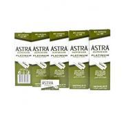 Żyletki ASTRA Superior Platinium (zielone) 500 sztuk