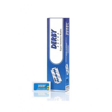 Żyletki Derby Extra Blue (niebieskie) 200 sztuk