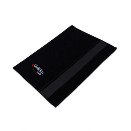 Firmowy ręcznik do golenia The Goodfellas Smile (ciemny pasek) 35x60 cm