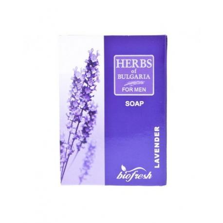 Bio Fresh męskie lawendowe mydło toaletowe lina Herbs of Bulgaria 100g