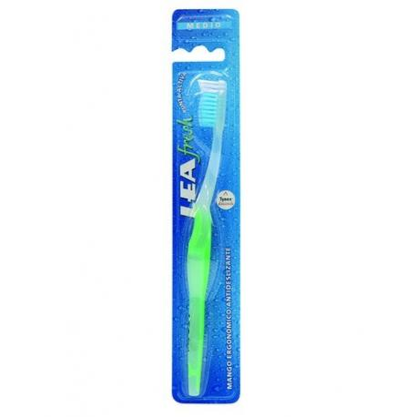 LEA FRESH Medium - szczoteczka do zębów, zielona