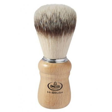 Pędzel do golenia Omega 0146228, syntetyk HI-BRUSH, buk