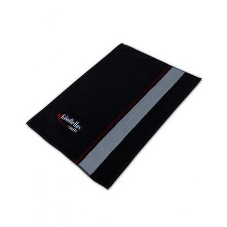 Firmowy ręcznik do golenia The Goodfellas Smile (jasny pasek) 35x60 cm