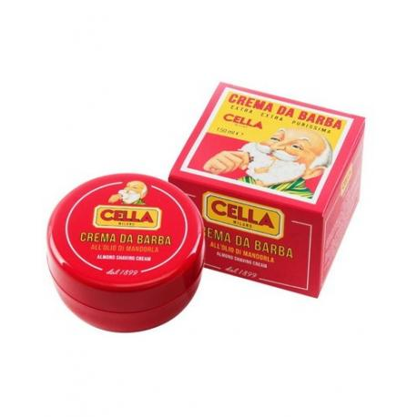 CELLA NEW Crema da Barba mydło do golenia w kremie tygiel 150ml