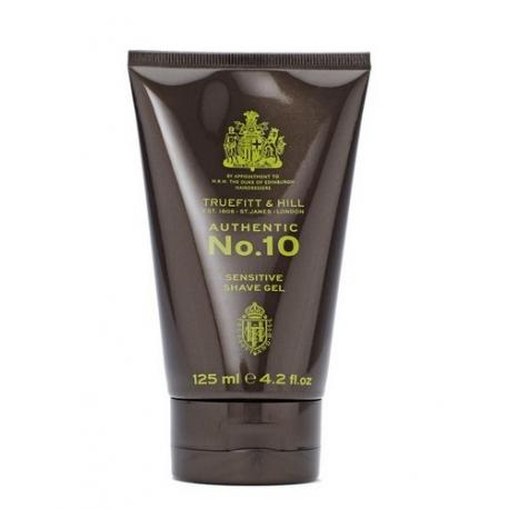 Truefitt & Hill No. 10 SENSITIVE SHAVE GEL 125ml