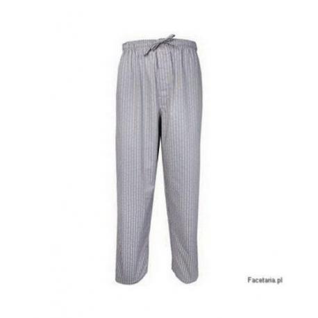 Spodnie piżamowe Calvin Klein szare z nadrukiem CK