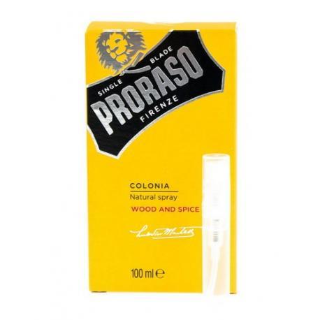 Tester zapachu Proraso Wood & Spice
