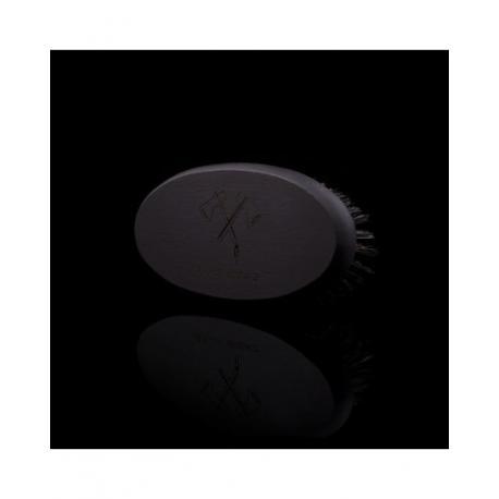 Stylowy Brodacz - szczotka (kartacz) do brody, czarna, włosie dzika