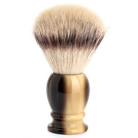 Pędzel do golenia Muhle CLASSIC 35K252, syntetyk SILVERTIP FIBRES, imitacja rogu