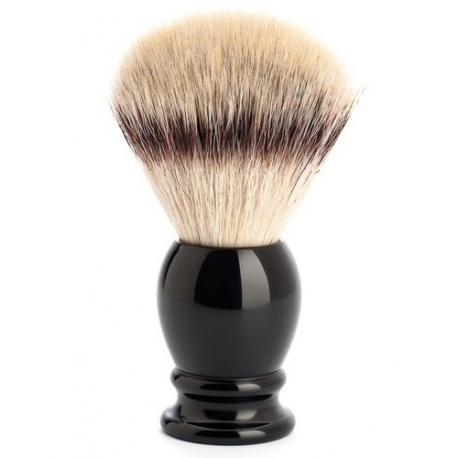 Pędzel do golenia Muhle CLASSIC 35K256, syntetyk SILVERTIP FIBRES, czarny