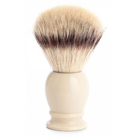 Pędzel do golenia Muhle CLASSIC 35K257, syntetyk SILVERTIP FIBRES, kremowy