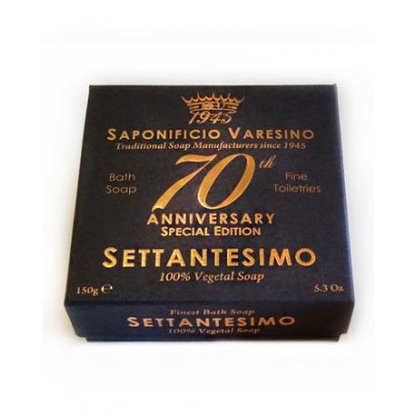 SAPONIFICIO VARESINO mydło kąpielowe 70th ANNIVERSARY w kartoniku 150g
