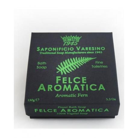 SAPONIFICIO VARESINO mydło kąpielowe AROMATIC FERN w kartoniku 150g