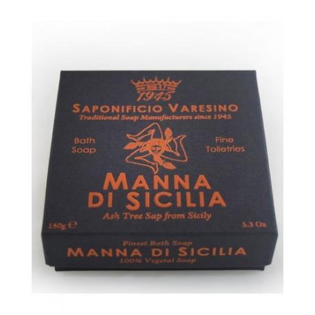 SAPONIFICIO VARESINO mydło kąpielowe MANNA DI SICILIA w kartoniku 150g