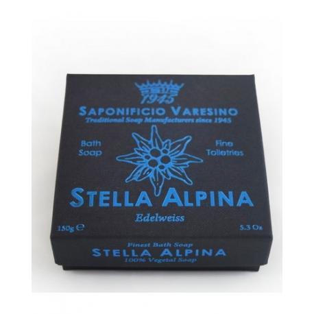 SAPONIFICIO VARESINO mydło kąpielowe STELLA ALPINA w kartoniku 150g