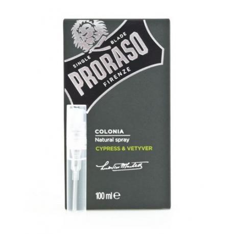 Tester zapachu Proraso Cypress & Vetyver