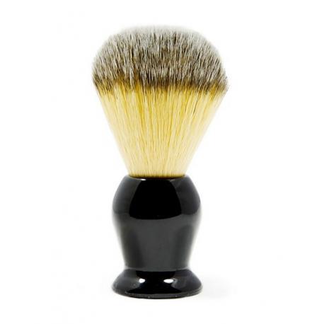 Pędzel do golenia ROCKWELL, syntetyk, czarny