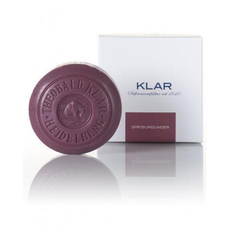 KLAR Spatburgunder (czerwone wino) luksusowe mydło kąpielowe 150g