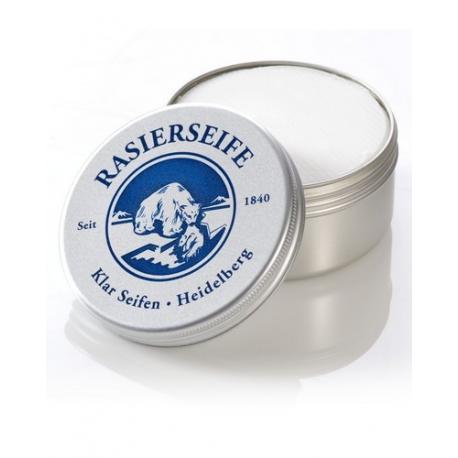KLAR Lemongrass luksusowe mydło do golenia w tyglu 110g