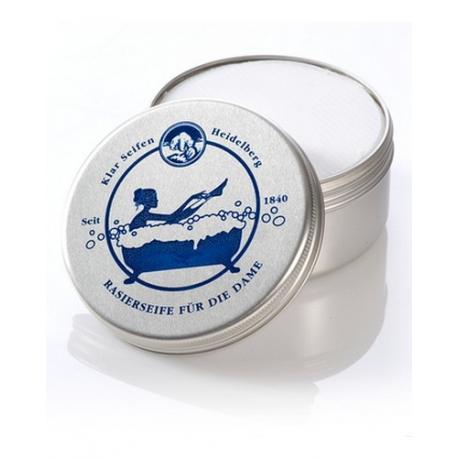 KLAR Women luksusowe mydło do golenia dla kobiet w tyglu 110g