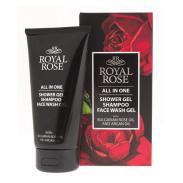 Bio Fresh męski żel i szampon pod prysznic 3w1 Linia Royal Rose 150ml