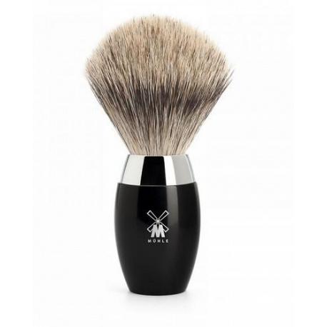 Pędzel do golenia Muhle KOSMO 281K876, borsuk BEST, czarny