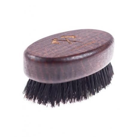 Stylowy Brodacz - podróżna szczotka (kartacz) do brody włosie dzika